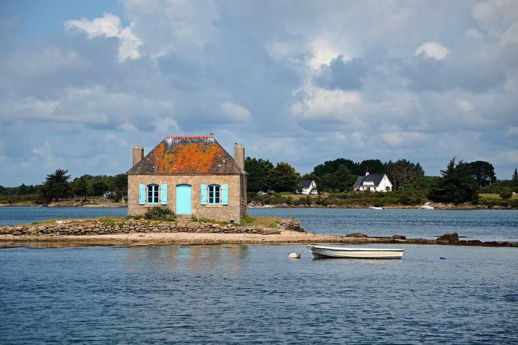 la petite maison de pêcheur à Saint Cado