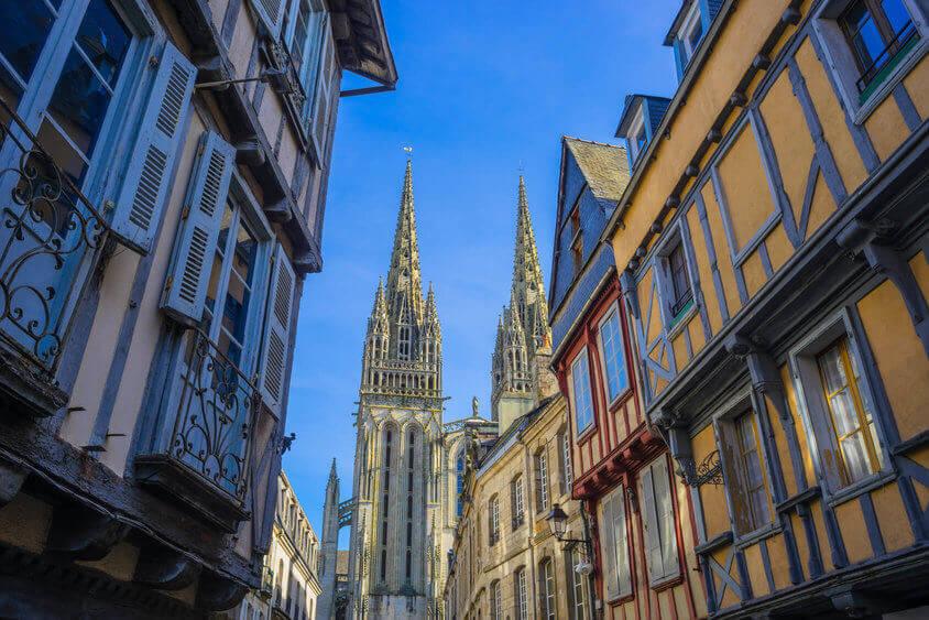 visiter quimper et la cathédrale